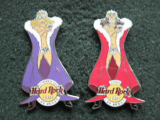Hard Rock Cafe Pins - LAS VEGAS LOT OF 2 ASSORTED 2004 PINDEX EVENT!