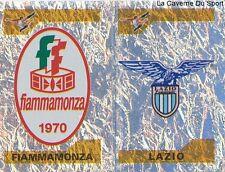 756 SCUDETTO FIAMMAMONZA LAZIO ITALIA FEMMINILE STICKER CALCIATORI 2005 PANINI