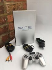 Sony PlayStation 2 / PS2 Console - Silver SCPH 50003 FAST FREE UK PP 5 FREE GAME