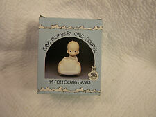 "Precious Moments ""I'm Following Jesus"" 1986 Members Only Figurine Pm-862"