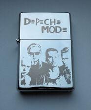 DEPECHE MODE - chrome petrol lighter ---------- [Cd:621.mc-94-lP.] mini poster