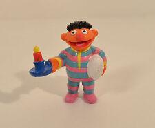 "2.5"" Bedtime Ernie in Pajamas Applause PVC Action Figure Sesame Street Workshop"