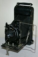 Dolland Owl / Houghton & Butcher Folding / Bellows Roll Film Camera Leather Case