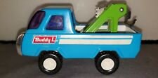 Buddy L Tow Truck - Vintage Collectible Toy/ Blue/ Made in Japan