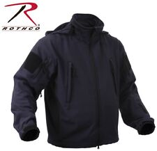 Midnight Navy Blue Special OPS Tactical Soft Shell Waterproof Jacket Rothco 9511