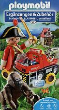 Prospekt Playmobil Ergänzungen Zubehör 1.6.11 2011 Broschüre Spielzeug brochure