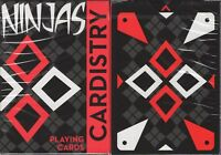Cardistry Ninjas Playing Cards Poker Size Deck USPCC De'Vo Custom Limited New