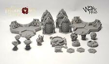 Blackstone Fortress custom marker set dragons rest sci fi terrain print to order