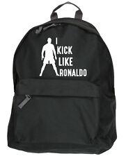 Je kick comme Ronaldo Kit Sac à dos Ruck Sack football école