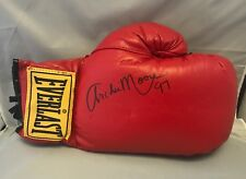 Archie Moore Signed Autographed Red Everlast Boxing Glove COA