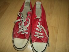 Sonic Sneakers Red Low Lace Up Mens Size 12