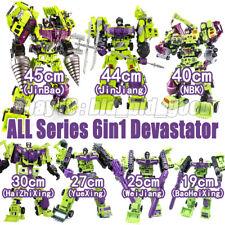 Transformers 6in1 Devastator GT G1 IDW Engineering Car Action Figure Robot Toys