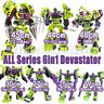 Transformers 6in1 Devastator GT G1 IDW Engineering Car Action Figure Robot Toys
