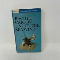 UNDER THE SEA WIND by RACHEL CARSON Signet Science Library PB 1941 1962 Vintage