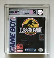 Jurassic Park Nintendo Game Boy VGA 75 EX/+NM H-SEAM Factory Sealed Brand New