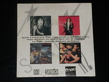 45 tours EP - PATTI SMITH - BIG AUDIO DYNAMITE +2 - PROMOTIONNEL ROCK & FOLK  88