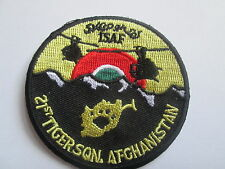 21st Tiger Sqn-ISAF Afghanistan- Embroidered Iron or sew on Patch P085