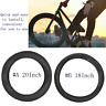 Ultralight 18/20Inch Folding Bicycle Bike Tire Outer Tube Explosion-Proof Tyre