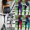 Womens Yoga Leggings Honeycomb Fitness Running Sport Gym Pants Workout Wear S-XL