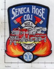 New York - West Seneca, Seneca Hose Co 1 NY Fire Dept Patch