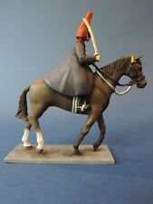 54mm Metal Toy Soldier - Mounted Blues And Royals Corporal Of Horse LMS24