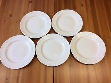 CASA DOMANI CASUAL WHITE EVOLVE 5 x DINNER PLATES