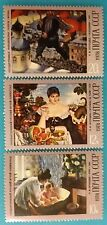 Russia (USSR) -1978 MNH OG 3 stamps. Art. B.Kustodiev-famous russian artist