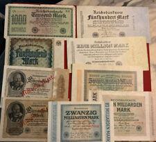 Deutschland Banknoten Lot (8)