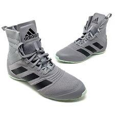 Adidas Speedex 18 Men's Boxing Shoes Boots Eg1033 Mma Wrestling Grey Size 10