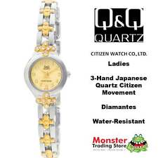 AUSSIE SELLER LADIES BRACELET WATCH CITIZEN MADE 2/TONE GL11-802 RP$99 WARRANTY