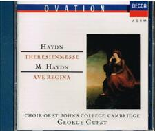 Haydn: Theresienmesse; M Haydn: Salve Regina; Mozart: Ave Ver  / George Guest CD