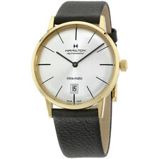 Hamilton Intra-Matic Automatic Silver Dial Mens Watch H38475751