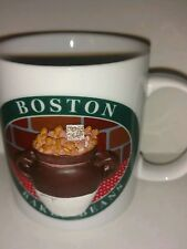Really Cool 3D collectible Coffee mug Boston Baked Beans and Recipe