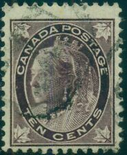 CANADA #73  10¢ brown violet, used, high value in set,