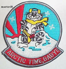 US.Navy F-14 Tomcat `ARCTIC TIME BABY`  Cloth Badge / Patch (F14-3)