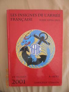 les insignes de l'armée française, Segalen tome 1
