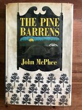 The Pine Barrens, McPhee, First Printing 1968 Hardcover, Dust Jacket, 1st