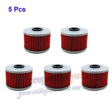 5 Pcs Oil Filter For KAWASAKI KLX 140L 140 110L 110 KX450F 449 BN125 ELIMINATOR