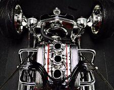 1910 Antique Hot Rod Chevy Chevrolet Car w/ 1967 Motor V8 Engine & Vintage Wheel