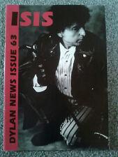 Bob Dylan Isis Bob Dylan Fan Club Magazine nr 63 rarità