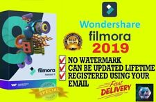WONDERSHARE FILMORA 9 2019 LATEST VERSION | CAN BE UPDATE | LIFETIME ✔️