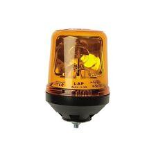 Radiofaro giratorio de seguridad de Perno único ámbar 12/24v LAP122-Reemplaza Lucas LBB122