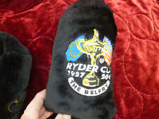 New listing 2 RYDER CUP 2001 THE BELFRY OFFICIAL MERCHANDIISE BLACK WOOD MICHELOB HEADCOVERS