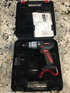 """Craftsman 315.114500 3/8"""" Drill / Driver 7.2V Bare Tool Case & Charger Only"""