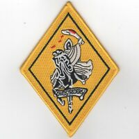"""5"""" NAVY VF-142 SQUADRON GHOSTRIDERS MILITARY EMBROIDERED JACKET PATCH"""