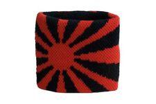 Schweißband Fahne Flagge Rot-Schwarz 7x8cm Armband für Sport