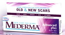 Mederma advance plus Scar Gel for Skin MARK STRETCH REMOVAL ACNE BURN Treatment