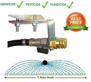7M Spray Boomless Nozzle Kit - Rapid Spraying Weed Spot Flat Jet Boom Sprayer