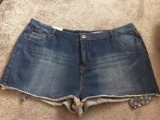 New Look Plus Size Denim Shorts for Women