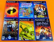SONY PS2 6x Games  ~ Very Good Games Bundle  ~ Kids 12+ Boys Girls